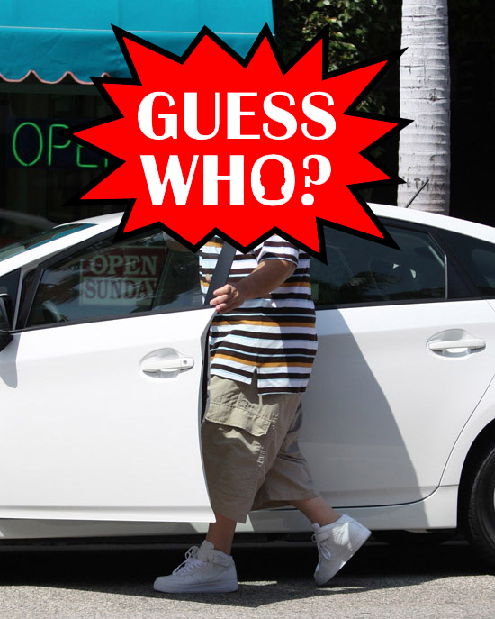 Guess Who?!: Rapper from the 90's Getting Into a Toyota Prius