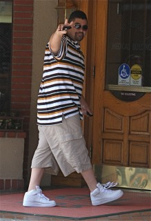 Heavy D out & about in Beverly Hills (July 28th 2009)