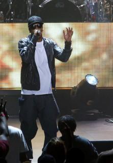 Jay-Z performs at Dodgers stadium in Phoenix, AZ