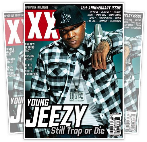 Young Jeezy // September 2009 XXL Magazine