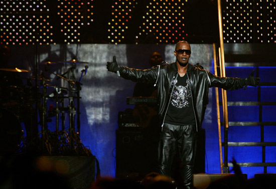"Jamie Foxx in concert for the ""Blame It"" tour (Kansas City, MIssouri - July 25th 2009)"