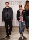 Justin Timberlake and designer Trace Ayala // William Rast New Denim Collection Launch at Selfridges