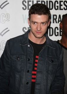 Justin Timberlake // William Rast New Denim Collection Launch at Selfridges