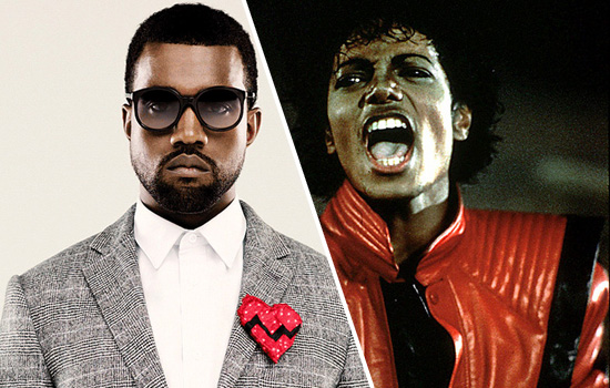 """Kanye West Wants to be the New """"King of Pop"""""""