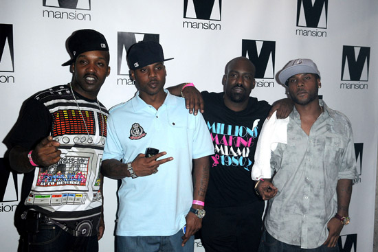 Jagged Edge // Lil Kim's 34th Birthday Party at Mansion in Miami (July 23rd 2009)