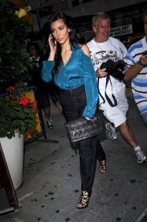 Kim Kardashian outside MTV Studios in New York City (July 29th 2009)
