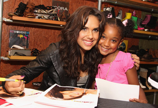 "Kristinia DeBarge // ""Exposed"" Album Signing/BabyPhat Pure Cat Launch at Journey's in NYC"