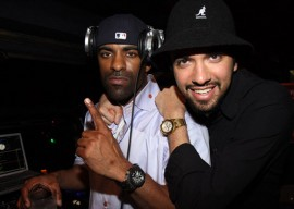 "DJ Clue & DJ Cassidy // ""Loso's Way"" Screening Afterparty in NYC"