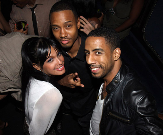 "Rocsi Diaz, Terrence J and Ryan Leslie // ""Loso's Way"" Screening Afterparty in NYC"