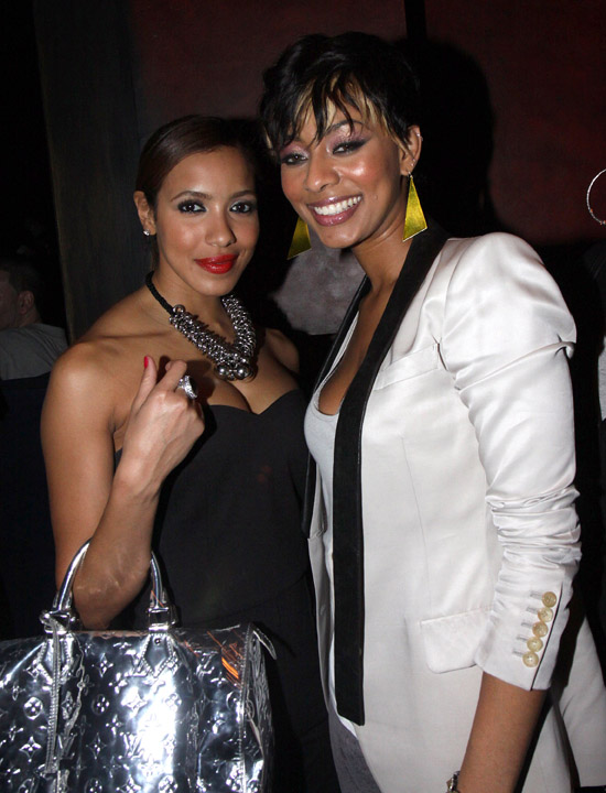 "Julissa Bermudez & Keri Hilson // ""Loso's Way"" Screening Afterparty in NYC"