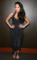 "Adrienne Bailon // Screening of ""Loso's Way"" in NYC"