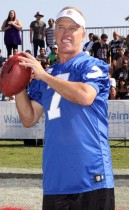 Retired NFL Star John Elway // Madden NFL '10 Pro-Am Celebrity Football Tournament