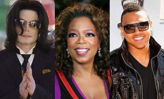 Michael Jackson // Oprah // Chris Brown