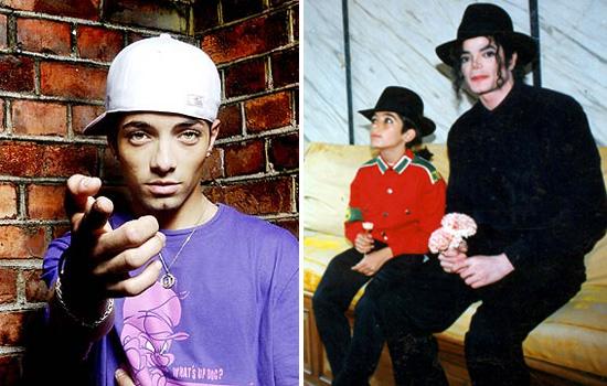 Omer Bhatti // Michael Jackson & a young Omer Bhatti