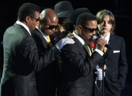 Marlon Jackson speaking // Michael Jackson's Public Memorial