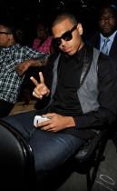 Chris Brown // Michael Jackson's Public Memorial (Audience)