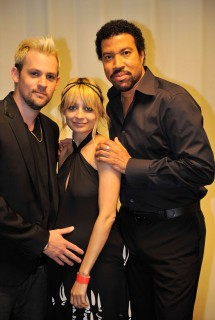 Joel Madden, Nicole Richie and Lionel Richie // Michael Jackson's Public Memorial (Backstage)