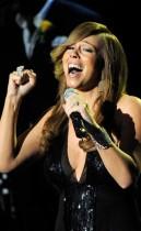 Mariah Carey // Michael Jackson's Public Memorial at Los Angeles' Staples Center