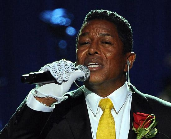 Jermaine Jackson // Michael Jackson's Public Memorial at Los Angeles' Staples Center