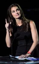 Brooke Shields // Michael Jackson's Public Memorial at Los Angeles' Staples Center