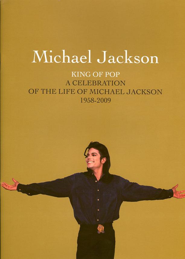 Michael Jackson's Memorial Program (Cover)