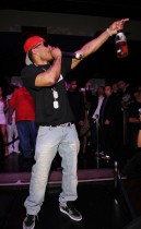 Nelly performing at The Mirage\'s Jet Nightclub in Vegas