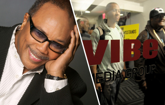 Quincy Jones // VIBE Corporate Offices