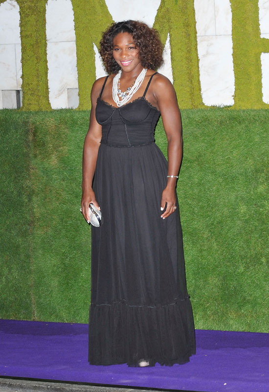 Serena Williams // Wimbledon Winners Party