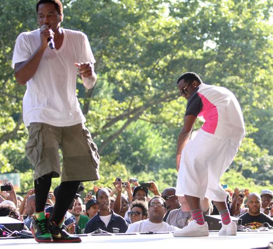 Q-Tip & Diddy // Central Park SummerStage Concert