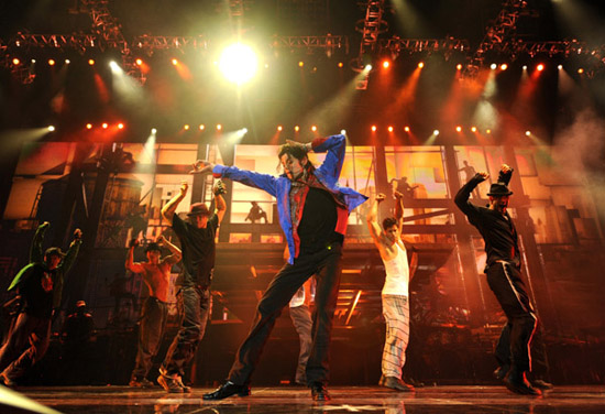 "Michael Jackson ""This Is It"" tour rehearsals (June 23rd 2009)"