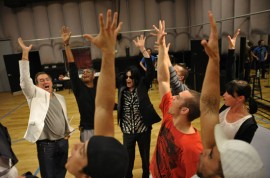 "Michael Jackson ""This Is It\"" tour rehearsals (May 6th 2009)"