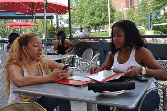 Tiny & Toya at Twist in Atlanta (July 6th 2009)