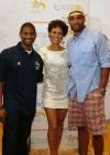 Usher, Nicole Ari Parker and Boris Kodjoe // Closing Ceremony for Usher's Camp New Look in Atlanta