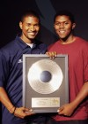 """Usher and UNL Camper Justin """"Edit"""" Fulcher // Closing Ceremony for Usher's Camp New Look in Atlanta"""