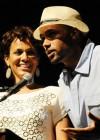 Nicole Ari Parker and Boris Kodjoe // Closing Ceremony for Usher's Camp New Look in Atlanta