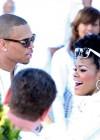 Chris Brown & Teyana Taylor // Diddy & Ashton Kutcher's White Party