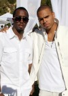 Diddy & Chris Brown // Diddy & Ashton Kutcher's White Party