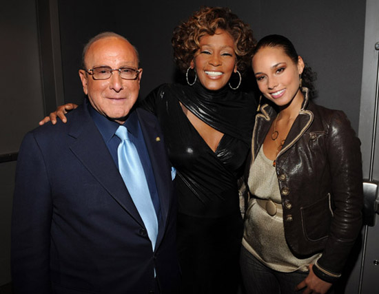 "Clive Davis, Whitney Houston and Alicia Keys // Whitney Houston's ""I Look To You"" Album Listening Party"