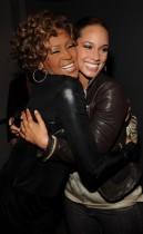 "Whitney Houston and Alicia Keys // Whitney Houston's ""I Look To You"" Album Listening Party"