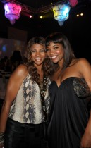 "Sandra ""Pepa"" Denton & Gabrielle Union // Zo Summer Groove Publix Charities Benefit Dinner - ""Deco After Dark"""