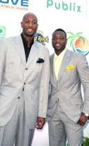 "Alonzo Mourning & Dwyane Wade // Zo Summer Groove Publix Charities Benefit Dinner - ""Deco After Dark"""