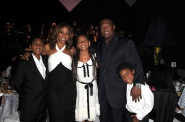 "Holly Robinson-Peete, her husband Rodney and their children // Zo Summer Groove Publix Charities Benefit Dinner - ""Deco After Dark"""