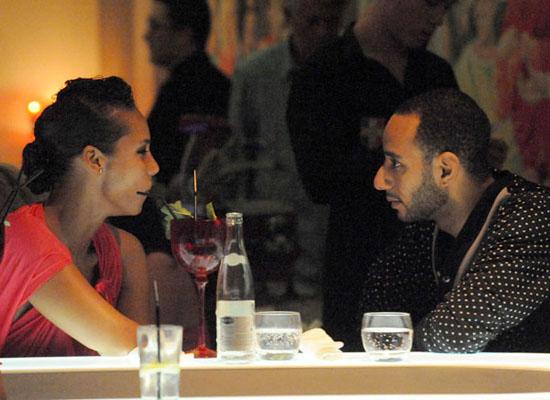Alicia Keys & Swizz Beatz at the VIP club in St. Tropez (August 26th 2009)