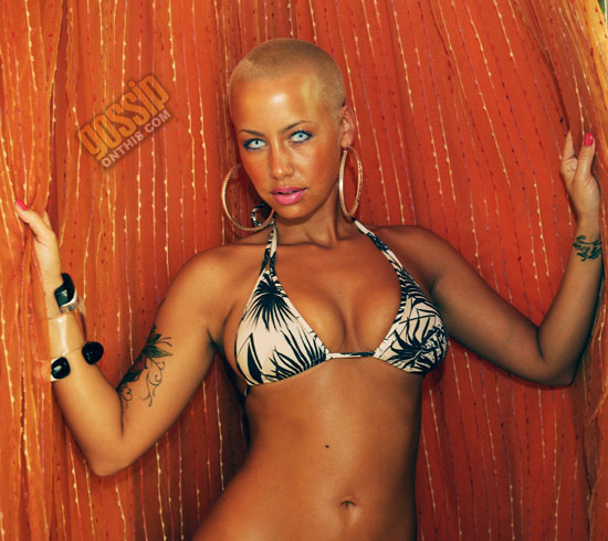 Amber Rose hosts party at TAO Beach in Las Vegas