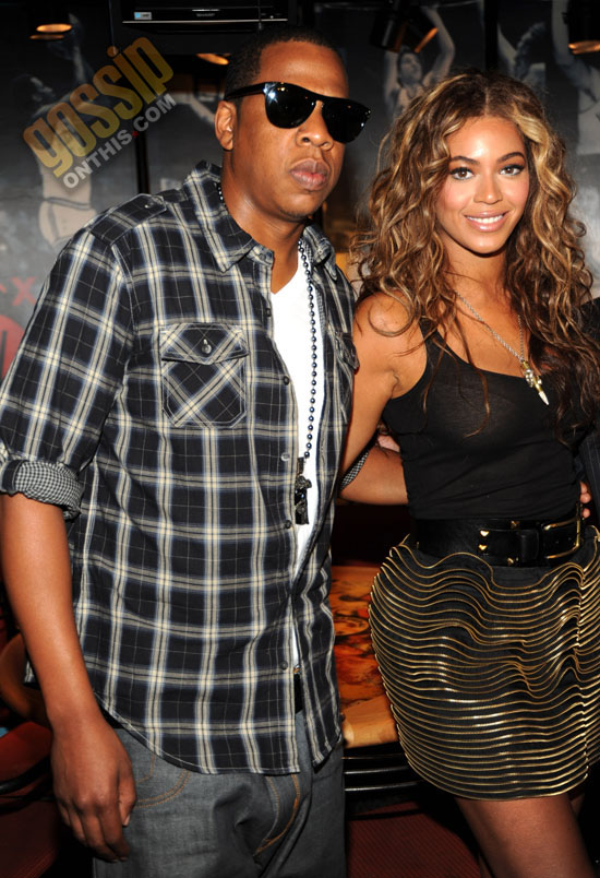 """Beyonce & Jay-Z // """"Answer the Call"""" charity concert press conference in NYC"""