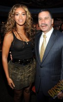 """Beyonce and NY Gov. David Patterson // """"Answer the Call"""" charity concert press conference in NYC"""