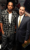 """Jay-Z and NY Gov. David Patterson // """"Answer the Call"""" charity concert press conference in NYC"""