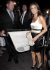Eva Longoria arriving at Beso Restaurant in Los Angeles (August 5th 2009)