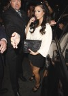 Kim Kardashian arriving at Beso Restaurant in Los Angeles (August 5th 2009)