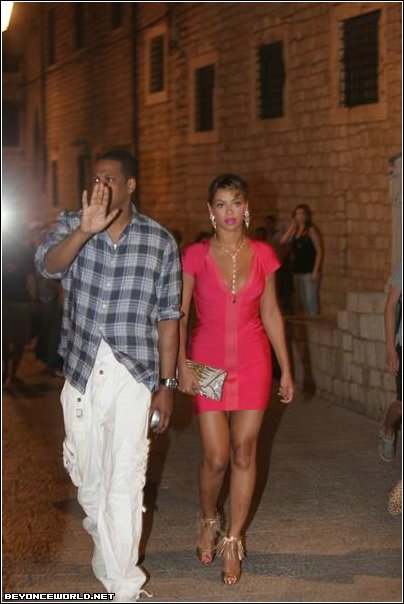 Beyonce and Jay-Z in Croatia (August 18th 2009) Jay Z